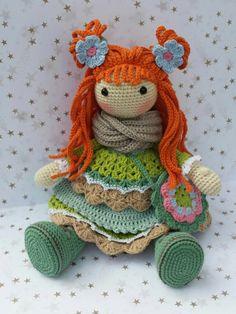 (I want to find a knitted version like this doll....)  Someone else noted >>>  Big