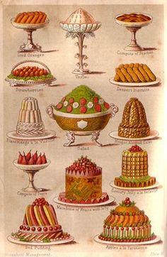 Edwardian cakes
