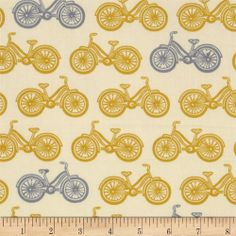 Moda Little Things Organic Cycle Time Cream - Mustard