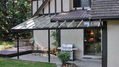 Patio Cover idea- aluminum patio cover kit,glass awning Patio Covers - Do It Yourself Aluminum Patio Cover Kits, Aluminum Awnings, Patio Shade, Glass Awning Kits Diy Pergola, Pergola With Roof, Patio Roof, Back Patio, Pergola Kits, Small Patio, Awning Patio, Diy Patio, Backyard Patio