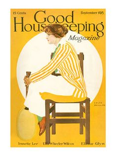 Coles Phillips : Cover art for Good Housekeeping, September 1914