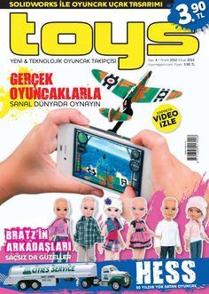 Toys Dergisi, Aralık 2012 - Ocak 2013 sayısı yayında! ÜCRETSİZ okumak için: http://www.dijimecmua.com/toys-dergi/