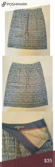 Boden skirt Beautiful blue skirt by Boden. Perfect for work or casual wear   No trades please  Will consider reasonable offers Boden Skirts Pencil