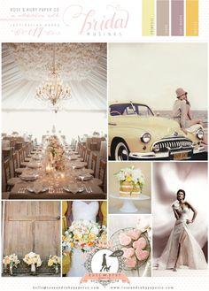 Yellow & Mauve Wedding Inspiration Board | Bridal Musings Wedding Blog