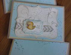 Tschüss, Entchen-Gruppe! Abschiedskarte für die Erzieherinnen der ersten Kindergartengruppe - mit Stampin' Up!