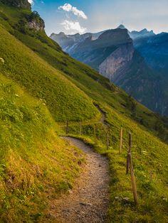 Schrennenweg   Alpstein, Switzerland