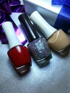 nail polishes combo