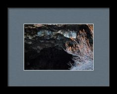 Portal To The Center Of The Earth Framed Print By Marnie Patchett