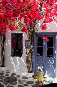 Mykonos ... love the 'French' doors