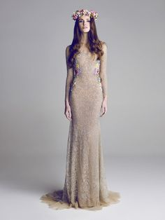 """Neither Hamda Al Fahim nor Krikor Jabotian is primarily known as a wedding dress designer—but if they keep turning out gowns like these, they'll both have brides knocking down their doors soon enough. (Krikor trained under Save the Date favorite Elie Saab, which explains why I instantly fell in love with his gowns.) Get a load of all this pretty: Wedding Dress 1 Hamda Al Fahim Wedding Dress 2 Hamda Al Fahim I know the dress below doesn't scream """"WEDDING!"""" but I just love how..."""