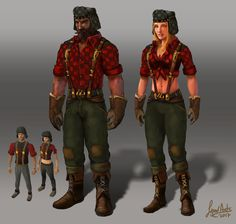 Image result for lumberjack game character