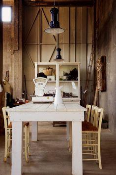 Une salle à  manger hétéroclite