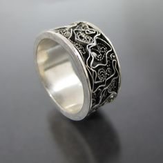 Filigree  rings Filigree  Silver rings  by NKjewelrydesign on Etsy