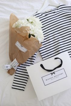 Homevialaura | Armor lux | breton shirt | Maison Helsinki | silk flower