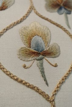 Motif 1 Folk Art Silk Shading Sampler | Ruth Kirby | Flickr