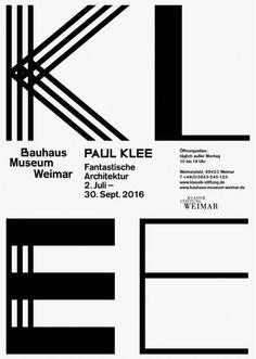 Studio Laucke Siebein / Bauhaus Museum Weimar / Poster