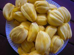 Jakfruit - the inspiration for the flavor of Juicyfruit gum!