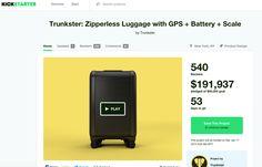 https://www.kickstarter.com/projects/trunkster/trunkster-zipperless-luggage-with-gps-battery-scal