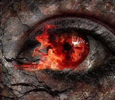 Fiery eyes