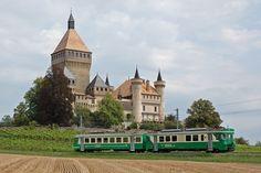 Chemin de fer Bière - Apples - Morges (BAM), Be 4/4 16, Vufflens-le-Château (VD)