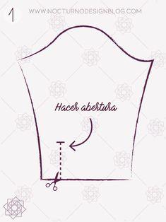 Cómo coser un puño con portañuela – Nocturno Design Blog Design Blog, Martha Stewart, Embroidery, Sewing, Crochet, Manga, Cilantro, Patterns, Style