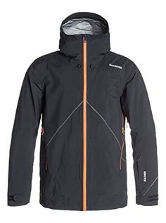 Quiksilver Snow Mens Thats It Jacket Black Small -- Details can be found by  clicking 86ba624b0a
