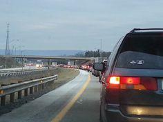 """""""#Patience in traffic."""" -Julie S. #watchandwait"""