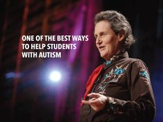While she understands autism functioning levels/deficit levels can vary greatly case-by-case, Grandin argues that there are verbal, autistic students that just aren't being pushed to their potential.  And the solution? Teach them how to work. Hone their skills and interests into a trade.  Autism | social skills | work skills  job skills | transition | school to work | special education | special needs activities