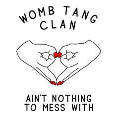 Womb Tang Clan (White) T-Shirt - Merchtable
