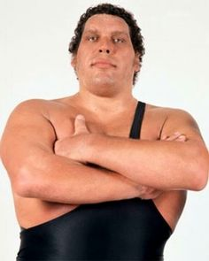In memory of Andre the Giant ~ (5/19/1946 - 1/27/1993) at age 46.