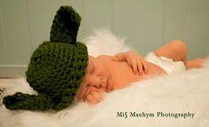 Yoda baby. Miss Maehym Photography