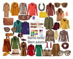 """Warme herfst/ Warm autumn color type."" by roorda on Polyvore featuring mode, Zara, Fendi, River Island, Chicnova Fashion, BGN, Barbara Casasola, Brooks Brothers, Uniqlo en CÉLINE"