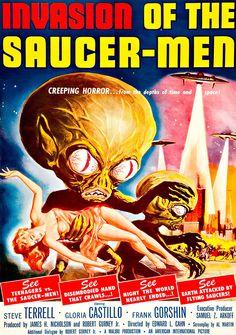 Masterpiece Art - Invasion of the Saucer Men, $31.00 (http://www.masterpieceart.com.au/invasion-of-the-saucer-men/)