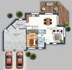 constructeur maison contemporaine orvault petit chantilly loire atlantique 44 | Depreux Construction