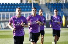 James Rodríguez podría afianzarse en la titular del Real Madrid tras lesión de Casemiro - HSB Noticias