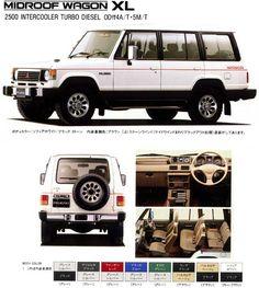 MITSUBISHI PAJERO MIDROOF WAGON XL Mitsubishi Pajero, Mitsubishi Eclipse, Mitsubishi Lancer Evolution, Bullet Proof Car, Off Road Wagon, Montero Sport, Best Suv, Jeep Cj7, Ford Maverick