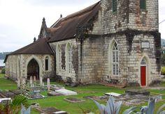 St. Mary's Parish Church & Cemetery In Port Maria, Jamaica by The Nite Tripper, via Flickr
