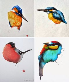 Simply Creative: Watercolor Paintings by Karl Mårtens