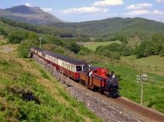 Planning your upcoming trip to North Wales? For beautiful scenery & an attraction the whole family will love, take a ride on our Snowdonia steam train. Locomotive, Wales Holiday, Heritage Railway, Snowdonia National Park, Train Journey, England And Scotland, By Train, Old Trafford, Train Travel