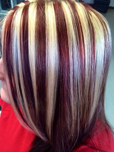 Kenra color red and blonde, I've been looking for that red