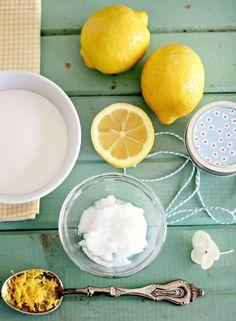 recette gommage maison au citron sucre et bicarbonate de soude