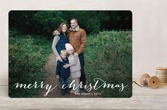 Simple Joy Christmas Photo Cards by Fig and Cotton | Minted