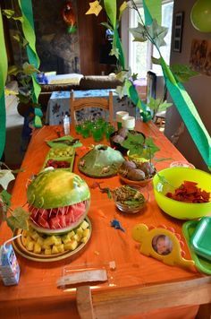 dinosaur party food2