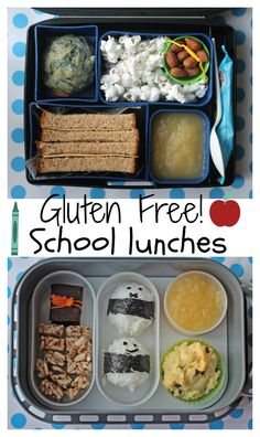 Gluten Free School Lunches by mamabelly.com