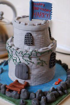 tower castel cake