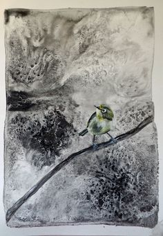 To Sing Sweeter (III) Figurative Art, Paper Art, My Arts, Joy, Painting, Birds, Animals, Papercraft, Animales