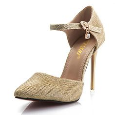 Women's Stiletto Heel Pointed Toe Pumps Shoes - USD $ 14.99