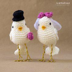 Lanukas: Wedding cake toppers