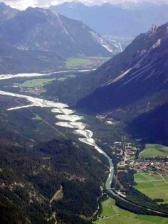 Lechtal - Stanzach vanaf de Klimmspitze