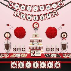 Elegant Cool How To Set Up Ladybug Themes In Baby Shower